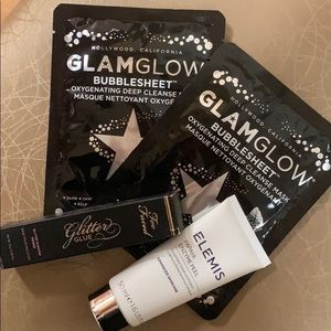 Too Faced, Elemis, and Glam Glow Bundle